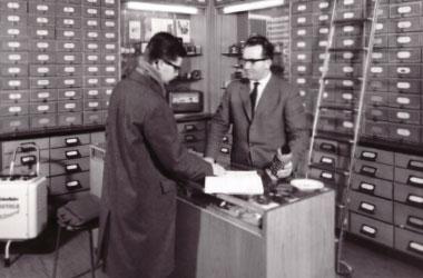 Chronik: Hugo Krischke Kontor 1950er