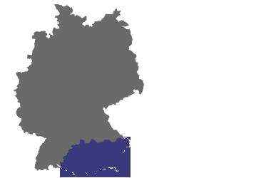 ELKA Hugo Krischke GmbH: Vertriebsgebiet Sued-Bayern