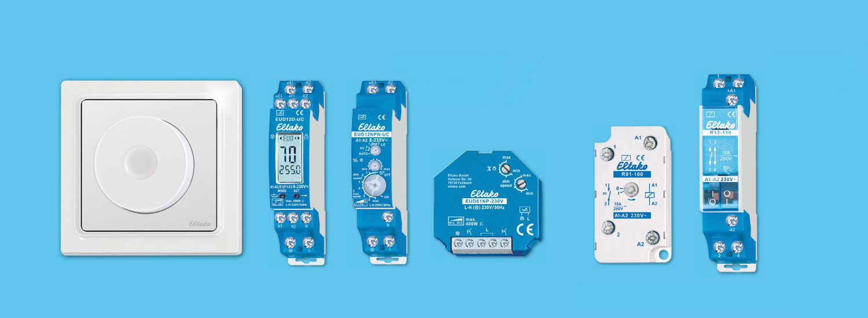 ELTAKO-Schalterprogramm: Schalten, Dimmen, Beschatten
