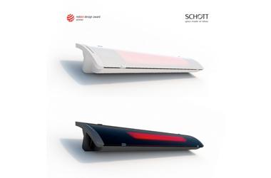 HEATSCOPE PURE - Design-Heizstrahler